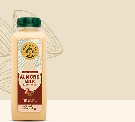 Almond Milk - Mama Roz Cold Press Juice