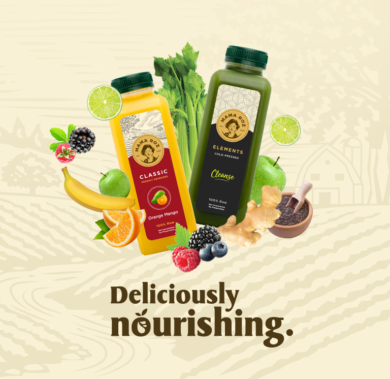 Mama Roz Cold Press Juice - Deliciously Nourishing - Mobile