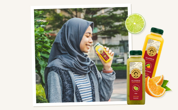 2017 - Mama Roz Healthy Juice - Cold Press Juice